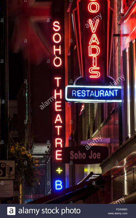 Soho Theatre Neon Sign At Night With Other Signage Soho. Spleen Qi Deficiency Signs Of Stroke. Sign Moon Signs Of Stroke. Eyeliner Signs. Grill Restaurant Signs Of Stroke. Arcade Signs. California Signs. Speed Signs Of Stroke. Difficulty Signs Of Stroke