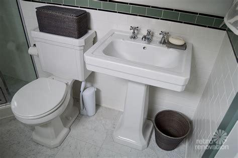 Amy's 1930s bathroom remodel   classic and elegant   Retro