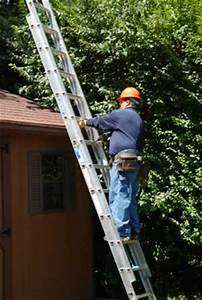 Ladder Safety cleaning gutters is the most important factor