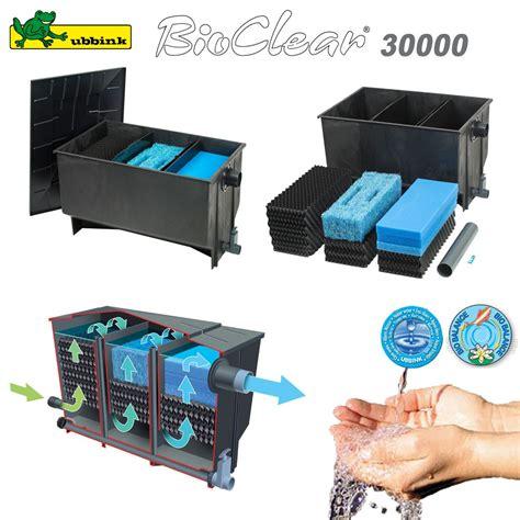 filtre pour bassin ext 233 rieur bioclear 30000 1355057 ubbink 8