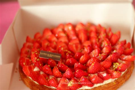 g 226 teau tarte aux fraise 224 la cr 232 me p 226 tissi 232 re photos et recettes