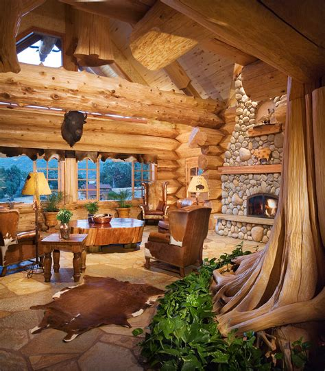 a handcrafted energy efficient log home in california nature inspired nature and log homes