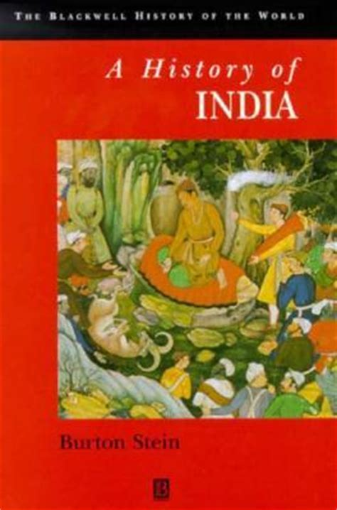 Lumio Book L India by A History Of India By Burton Stein Reviews Discussion