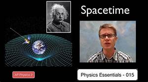 Spacetime: In this video Paul Andersen explains how the ...