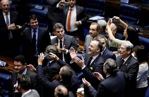 Brazil's Rousseff set to bow out after Senate votes to put ...