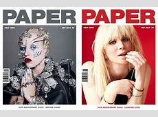 PAPER Magazine Celebrates 30 Years With Cover Stars