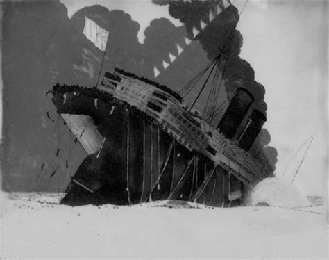 winsor mccay animates the sinking of the lusitania in a