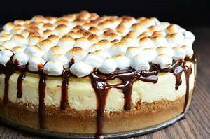 S'Mores Cheesecake Recipe - Will Cook For Smiles