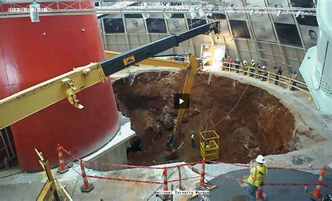 national corvette museum sinkhole update 3 31 2014