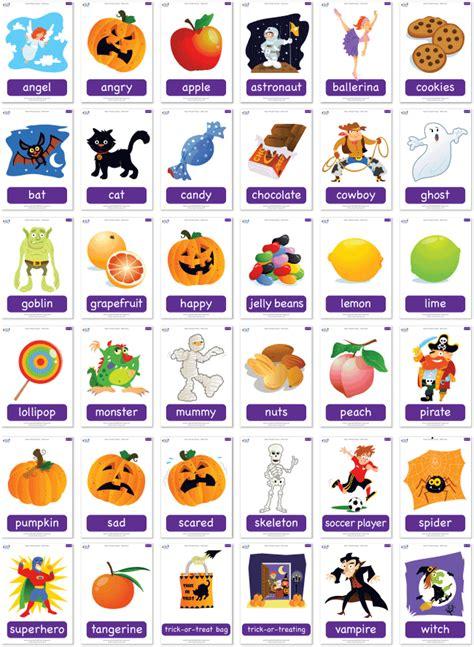 Flashcard Halloween Printable  Festival Collections