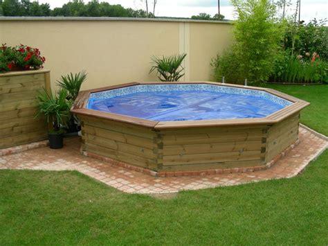 piscine bois enterrer pas cher