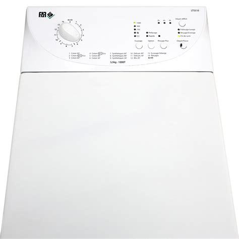 test far conforama lt5510 lave linge ufc que choisir