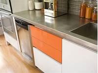 stainless steel counter Stainless Steel Countertops   HGTV