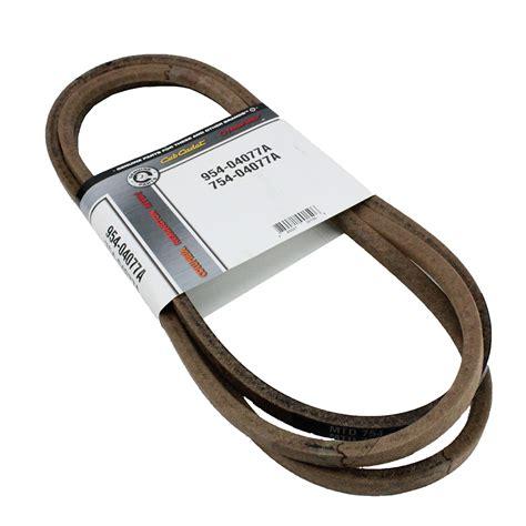 oem deck belt for troy bilt tb2450 bronco mowers w
