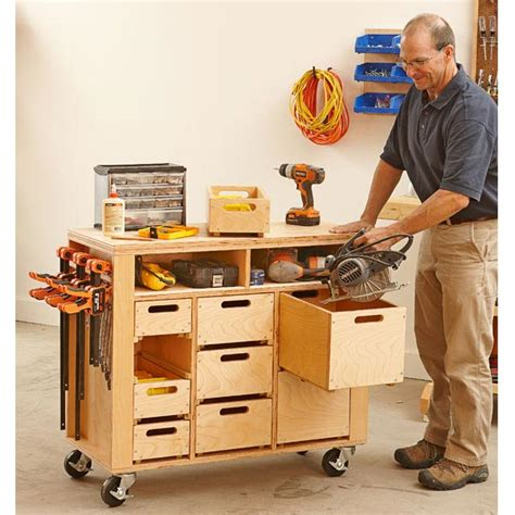 wheel easy shop in a box woodworking plan from wood magazine