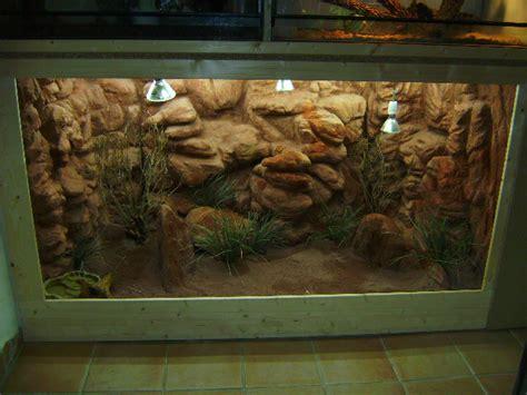 decor de fond terrarium fait maison