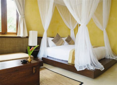 Luxurious Cotton Box Bed Canopy Super King Size 100