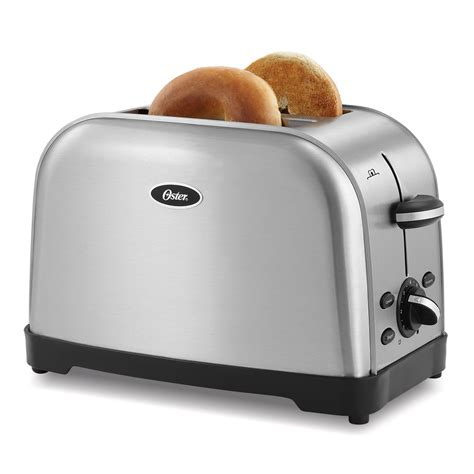 Oster® 2slice Toaster, Brushed Stainless At Ostercom