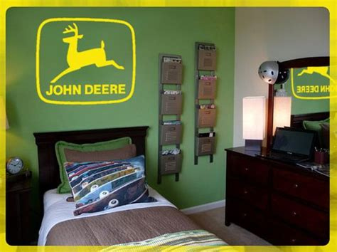 deere logo wall diy removable vinyl decal 24 quot x 24 quot on etsy 19 95 my deere