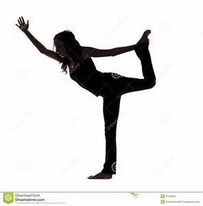 Silhouette Dance Pose Stock Image   CartoonDealer.com ...