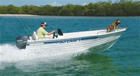 Boats Online Polycraft by New Polycraft 4 50 Drifter Side Console Trailer Boats