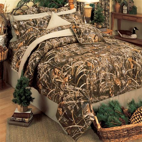 realtree max 4 camo ez bed set comforter sheets camouflage bedding ebay