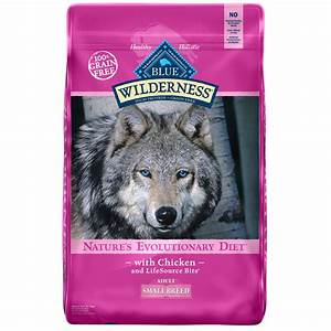 Blue Buffalo Small Breed Wilderness Chicken Adult Dry Dog ...