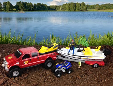 Toy Boat And Trailer Set by Tree House Kids Duck Dynasty