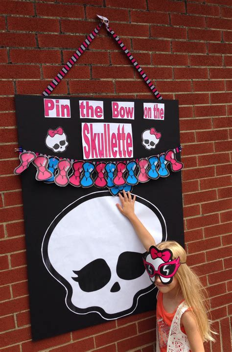 Sumptuous Design Inspiration Monster High Party Game Ideas