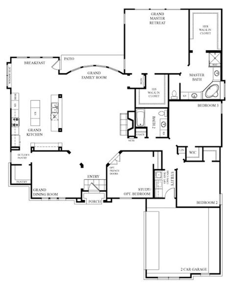 this avondale floor plan is one of the best family open floor plans picmia