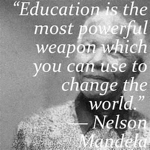 Education Is The Most Powerful Weapon Poster : vantage learning blog education is the most powerful weapon which you ~ Markanthonyermac.com Haus und Dekorationen
