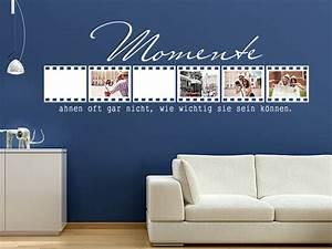Sei Wie Momente : wandtattoo als fotorahmen anleitung zum anbringen und verkleben ~ Markanthonyermac.com Haus und Dekorationen