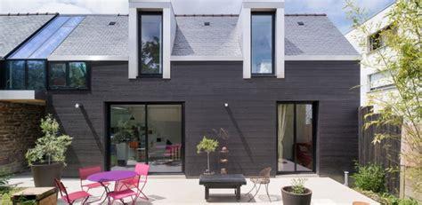 maison bois contemporaine par cl 233 ment bacle 224 rennes construire tendance