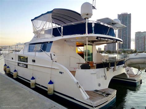 Fountain Boats For Sale Australia by Used Fountaine Pajot Cumberland 44 Power Catamaran For