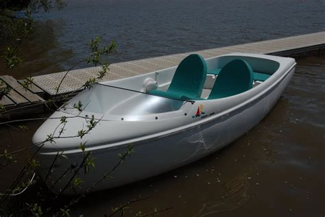 Pedal Boat Charlotte by Encore Electric Boat Nauticraft Pedal Electric Boats