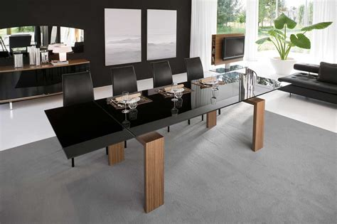 Stylish Contemporary Dining Table Ideas Showing Simple