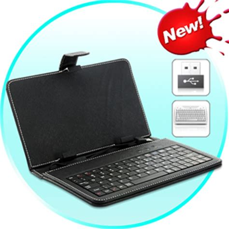 housse en cuir avec clavier pour tablette android 7 pouces samsung galaxy htc flyer