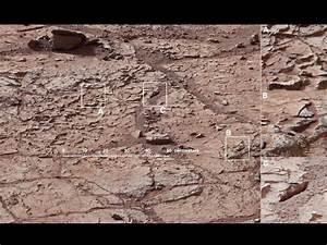 Curiosity extrait son premier échantillon de roche ...