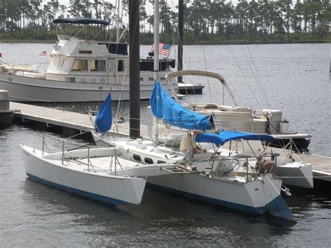 Catamaran Sailing Ship by Sailboat 28 Brown Maples Trimaran Trimaran Design