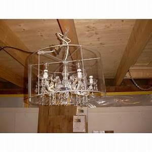 Kronleuchter Mit Lampenschirm : leuchter mit 5 armen und einen grossen lampenschirm ~ Markanthonyermac.com Haus und Dekorationen