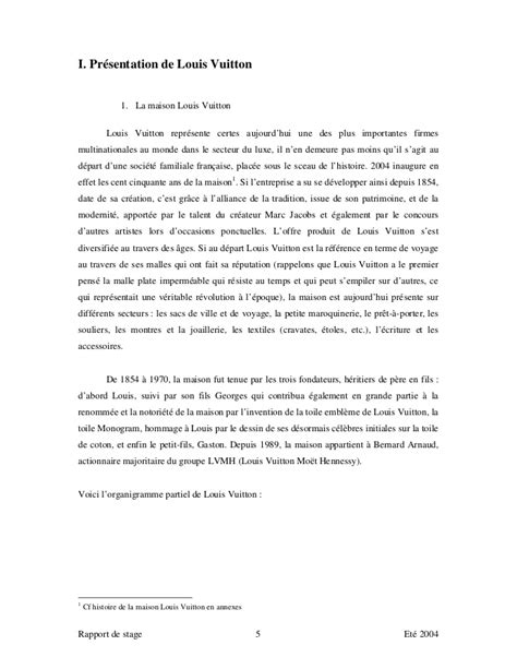 lettre de motivation stage luxe document