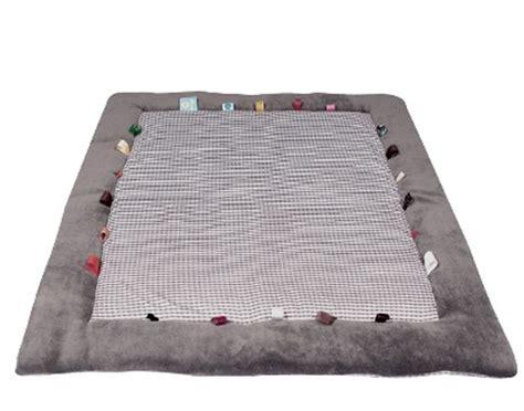 snoozebaby tapis de jeu et d 201 veil hippo grey gris naturel agr 233 able et confortable pour