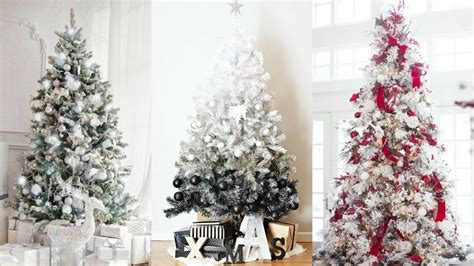 White Christmas Tree Decorating Ideas For 2017