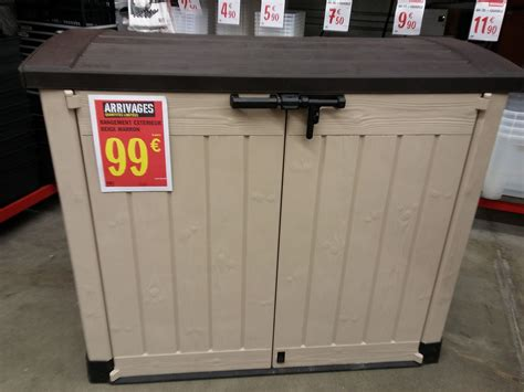 coffre de jardin keter 845l 224 99 au lieu de 200e en magasin brico depot 99 en magasin