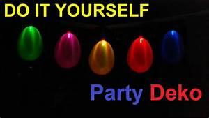 Party Deko Ideen Selbermachen : diy coole party deko selber machen geburtstagsdeko ideen partydeko led partyleuchte ~ Markanthonyermac.com Haus und Dekorationen