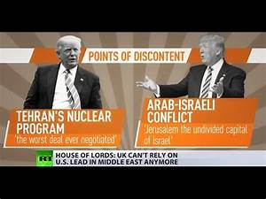 Video: UK should avoid Trump's 'unpredictable' Middle East ...