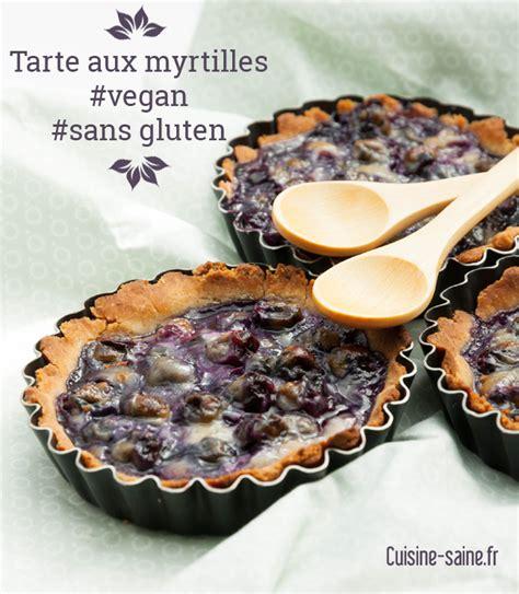 tarte aux myrtilles sans gluten sans lait sans œuf vegan
