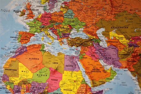 maps international grande carte murale plastifi 233 e le monde en fran 231 ais au 1 20mio