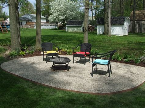 Pea Gravel Patio Designs by Pea Gravel Patio Design All Home Design Ideas