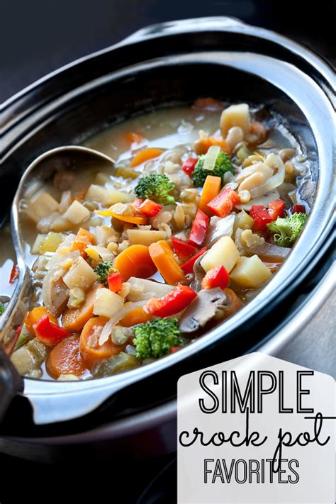 simple crock pot recipes my and